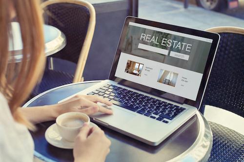 Online real estate shopper